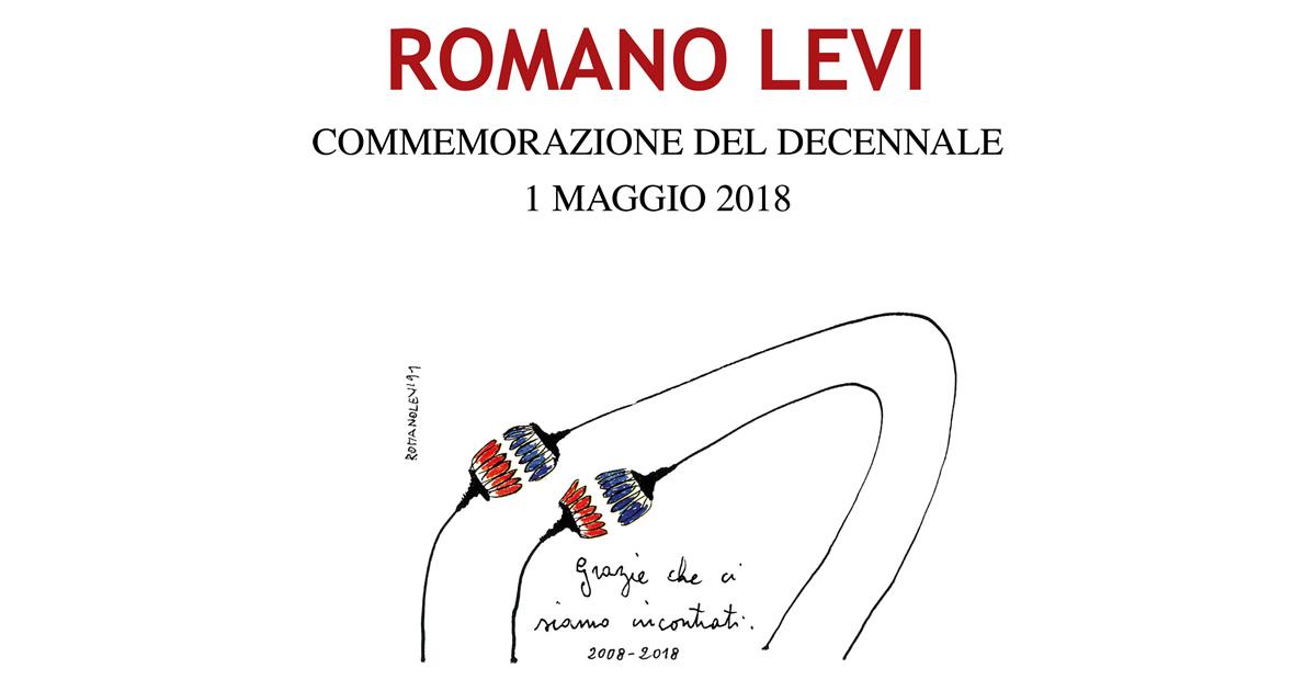 Commemorazione per il decennale della scomparsa di Romano Levi.