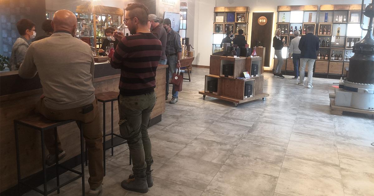 """Molti i visitatori in distilleria per """"Piemonte Grappa 2021"""""""