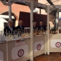 L'elegante vetrina di Alba per i prodotti dell'Istituto Grappa Piemonte.