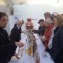 Alcuni momenti durante la Fiera Internazionale del Tartufo Bianco di Alba.