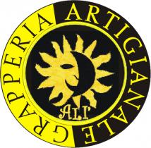 Il marchio della Grapperia Artigianale Alì