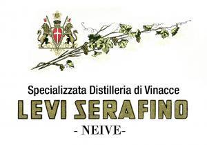 Il marchio della Distilleria Levi Serafino