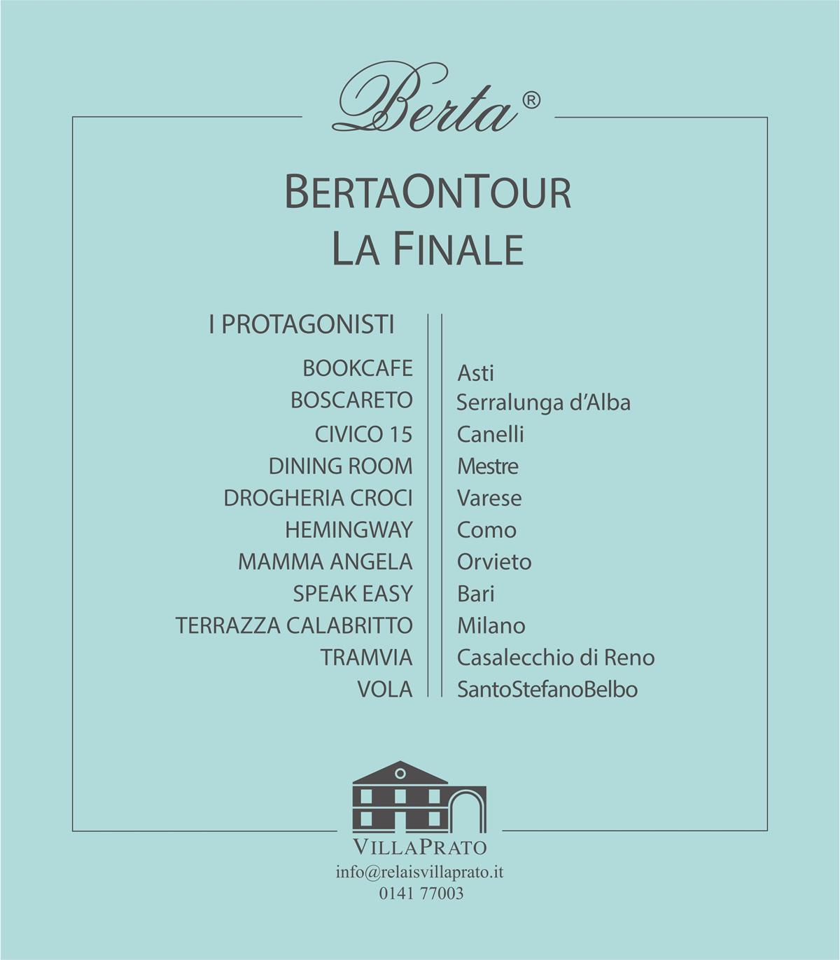 Berta On Tour.